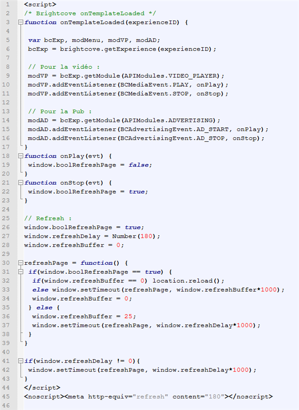 Code JS Auto Refresh Figaro Les échos