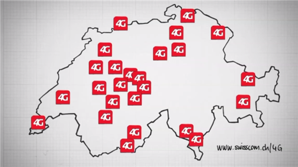 Swisscom 4G LTE