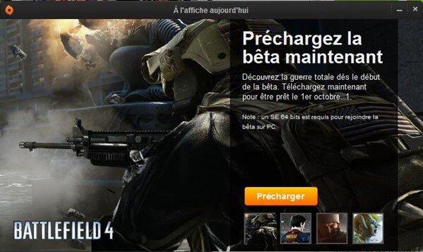 Bêta Battlefield 4