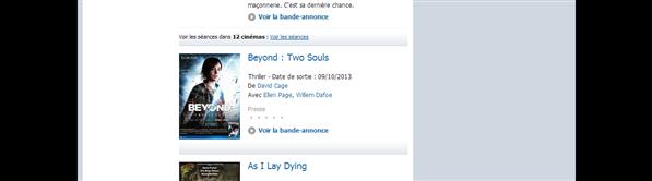 Beyond Two Sould AlloCiné