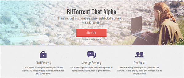 BitTorrent Chat Alpha