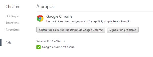 Chrome 30