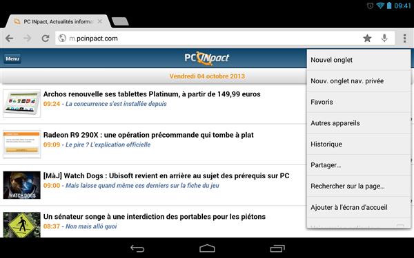 Chrome 31 beta