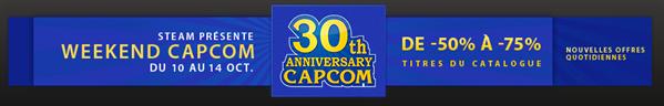 Steam promotion Capcom