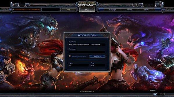 League of Legends Supremacy Leak
