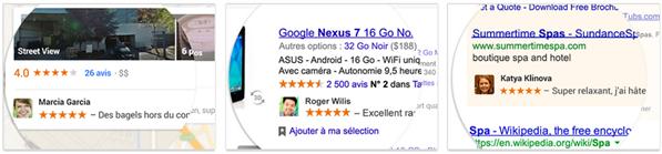 Google+ Publicités sociales