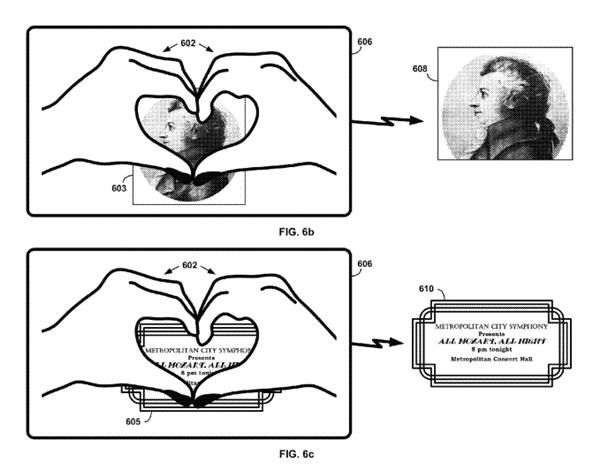 Google brevets gestes