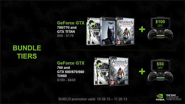 GeForce Bundle Holiday 2013