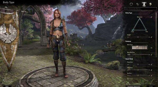 The Elder Scrolls Online Persos