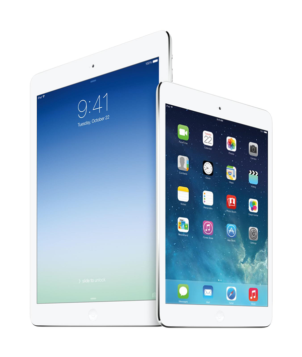 Apple iPad Air iPad mini Retina