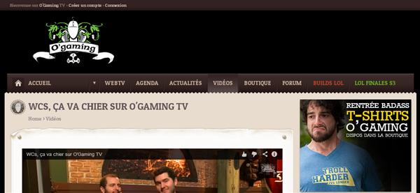 O'Gaming TV Adblock
