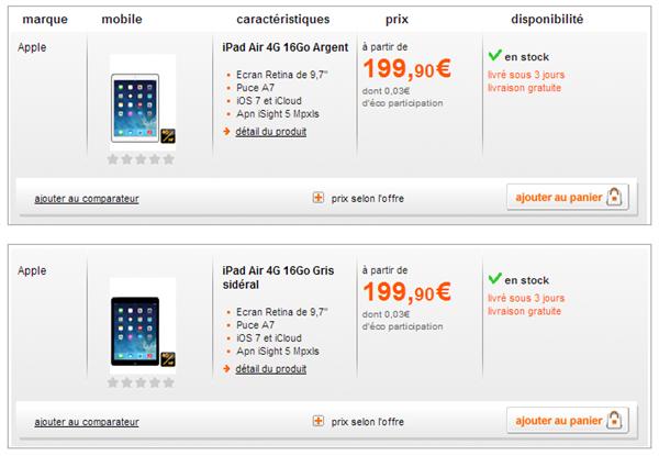 iPad Orange
