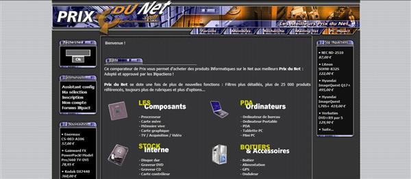Prix du Net 2003