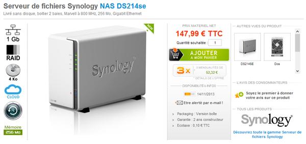 Synology DS214se