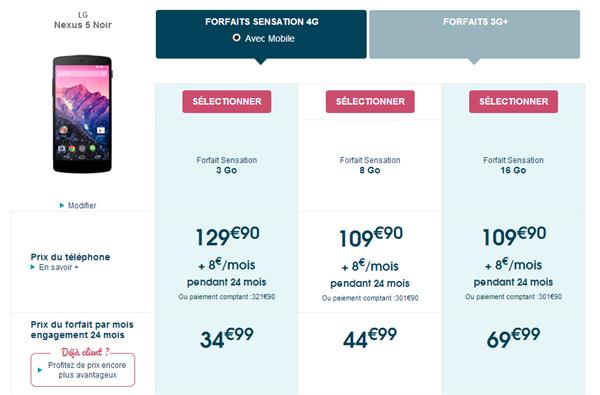 Bouygues Nexus 5