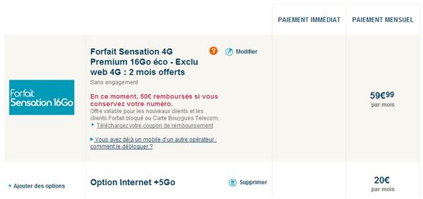Bouygues Sensation 21 Go