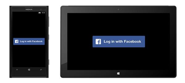 Windows Facebook Login
