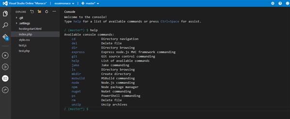 Microsoft Visual Studio Online Projet Monaco