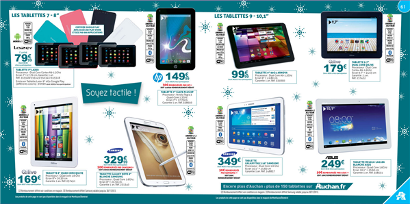Auchan catalogue de noel