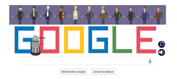 Doctor Who Doodle