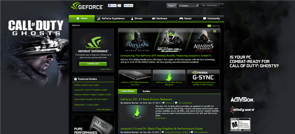 GeForce.com CoD
