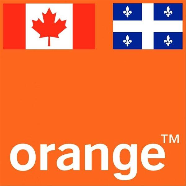 Orange Canada Quebec