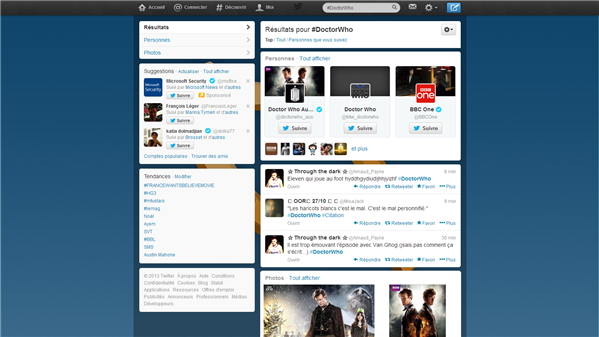 Twitter Top Doctor Who