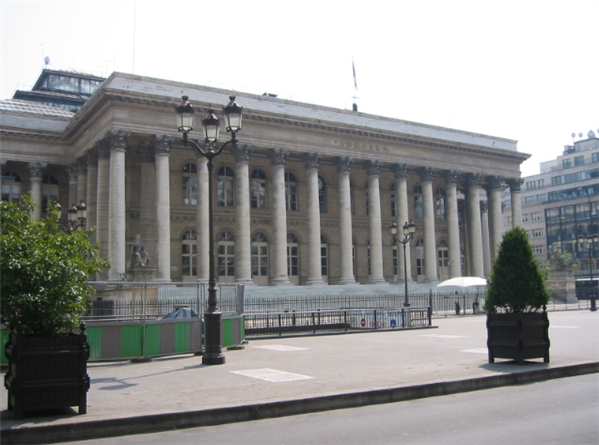 Bourse Paris Brongniart