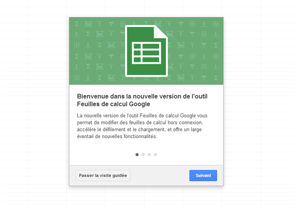 Google Feuille de Calcul