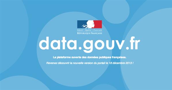 etalab data.gouv.fr open data