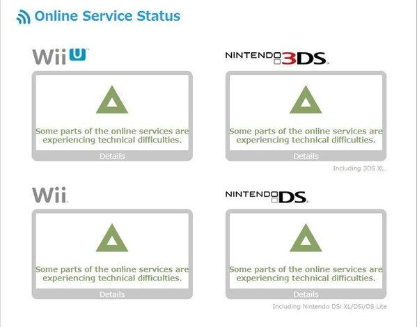 Nintendo Online Status