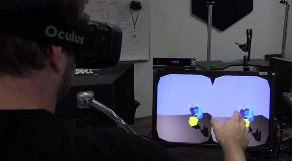 NASA Kinect Oculus