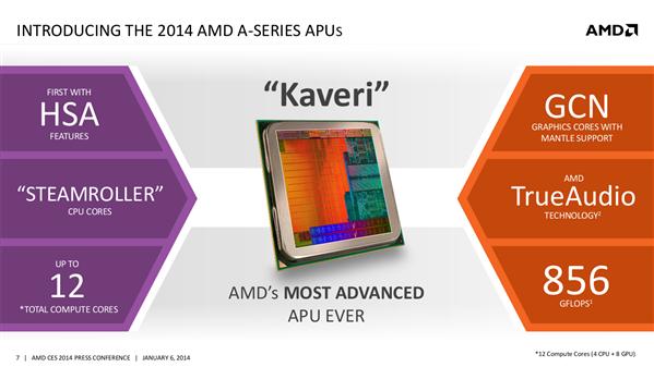 AMD Kaveri CES 2014