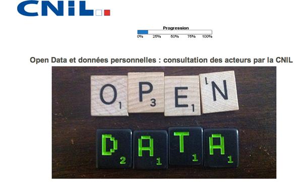 cnil consultation open data