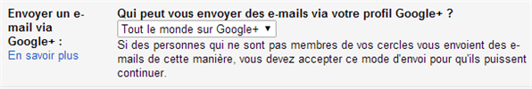 Gmail email google+