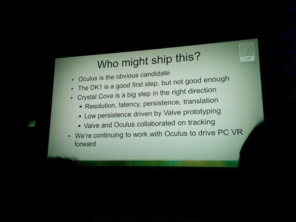Valve VR