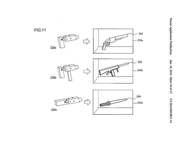 Sony brevet manette modulaire