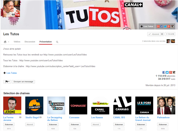 Les Tutos YouTube