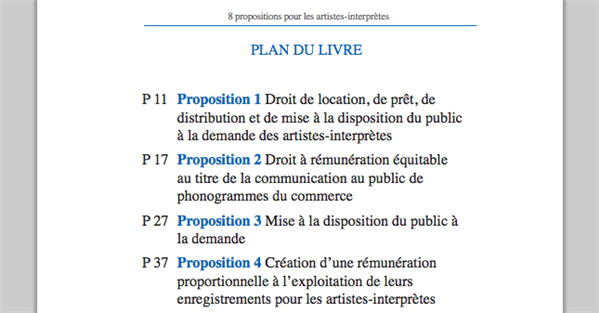 spedidam propositions