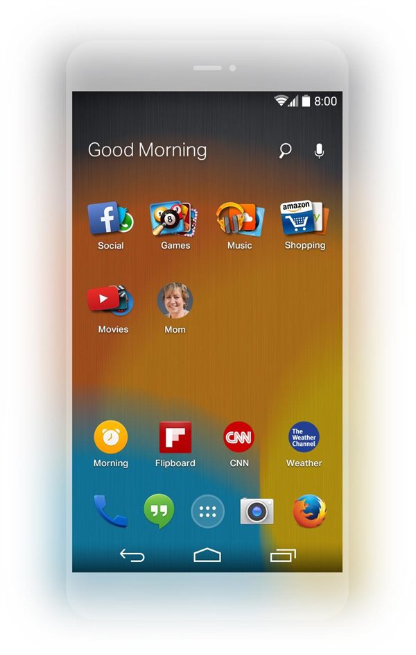 Firefox Launcher Android