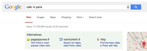 Google propositions Europe