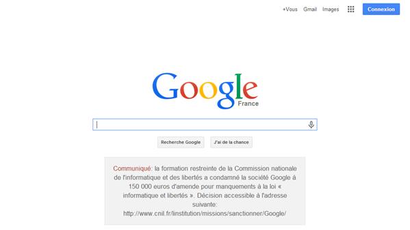 Google CNIL