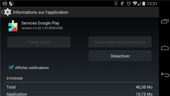 Google Play Services 4.2