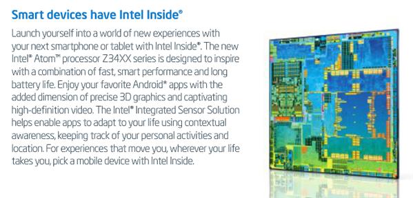 Intel Atom Merrifield