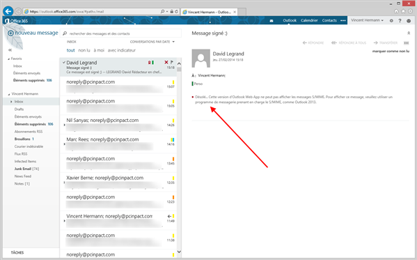 office 365 s/mime