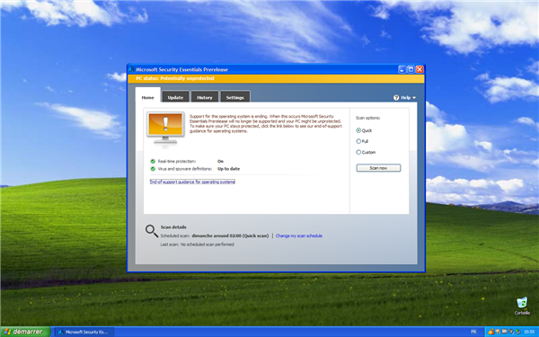 windows xp security essentials