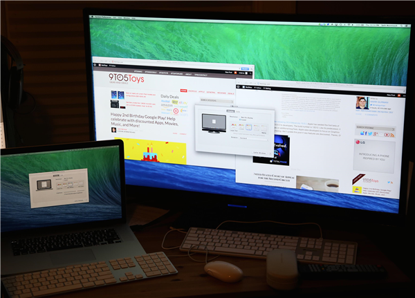 mavericks macbook pro ecran 4k