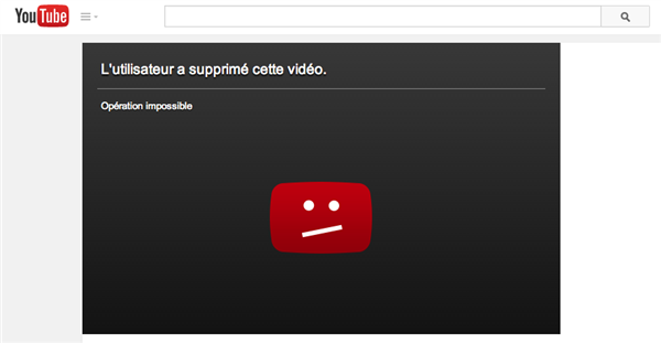 youtube blocage