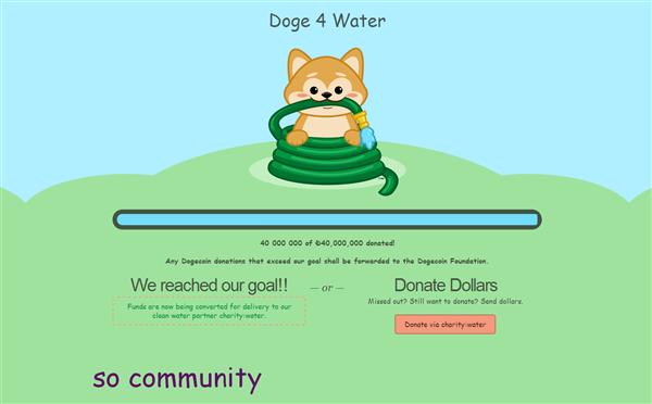 Doge4Water OK