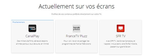 Chromecast France
